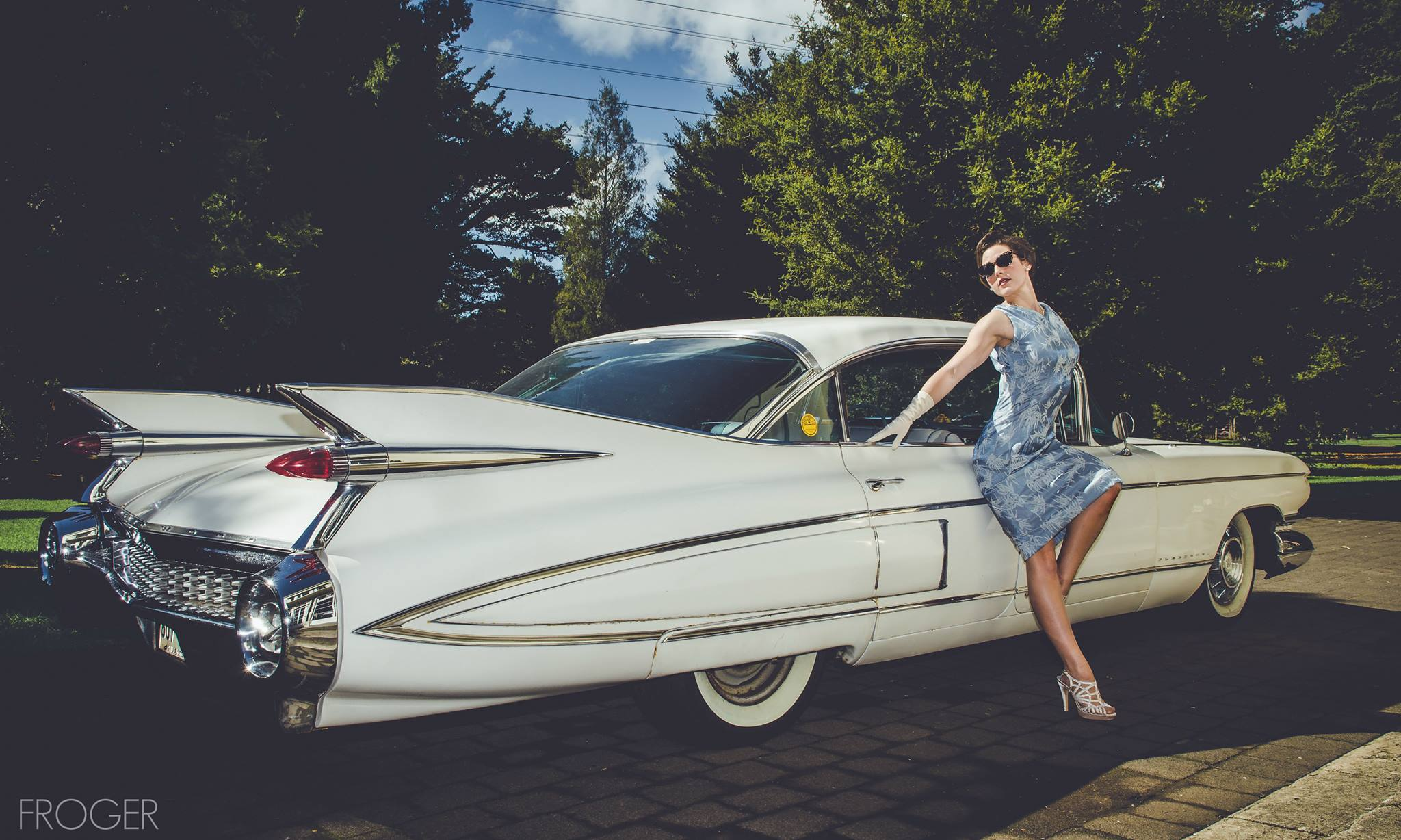 Cadillac Hollywood Starlet | Pinup Photoshoot | Velvet DeCollete
