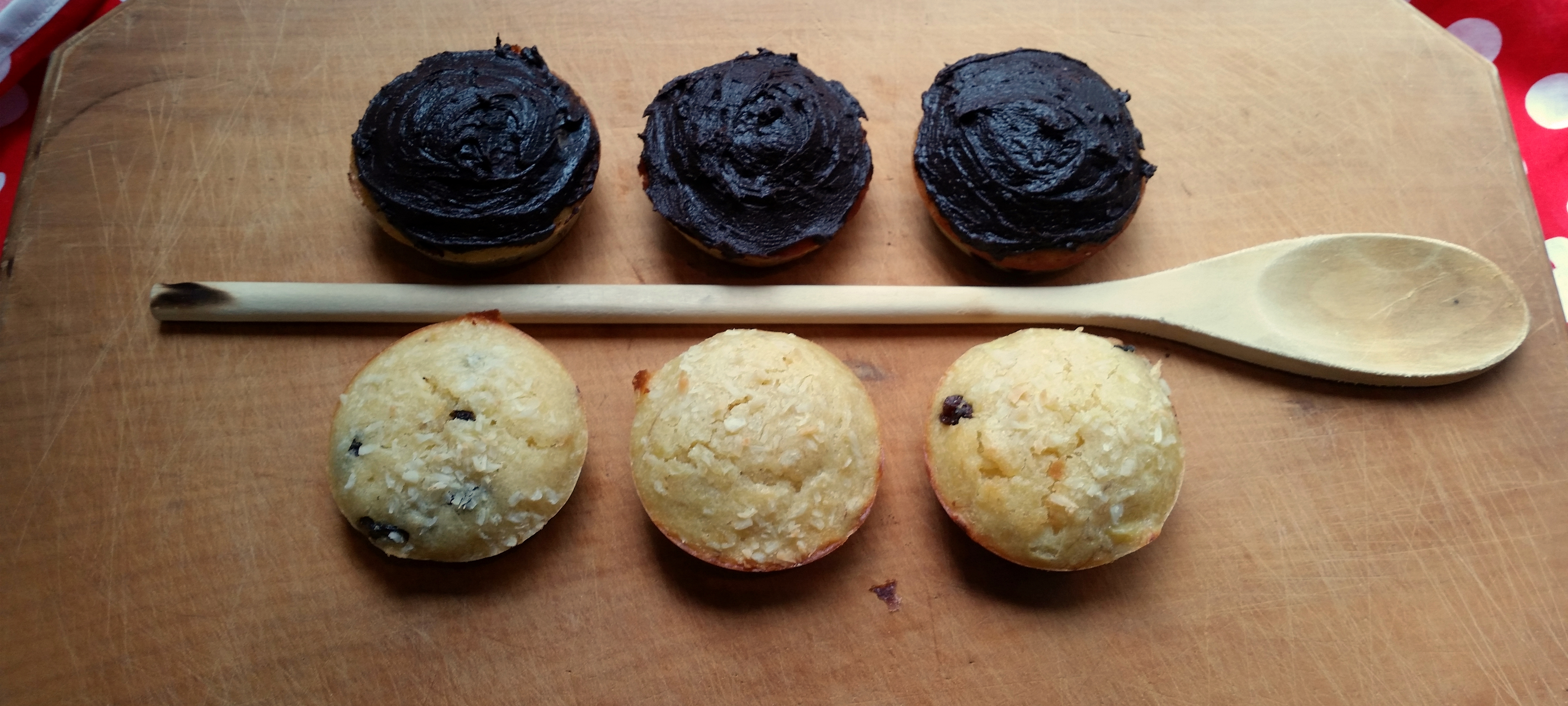 banana muffins two ways | The Beckoning Blog