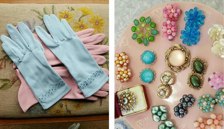 vintage accessories from Tock Tick vintage | Velvet DeCollete