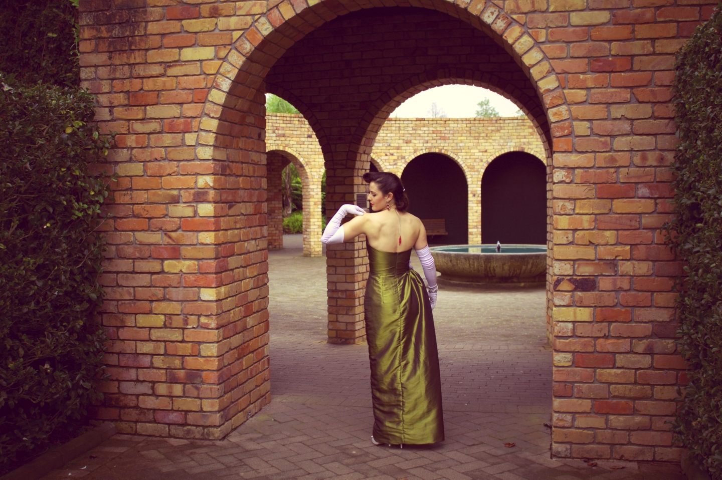 Orchid Evening Dress   Beckon Couture