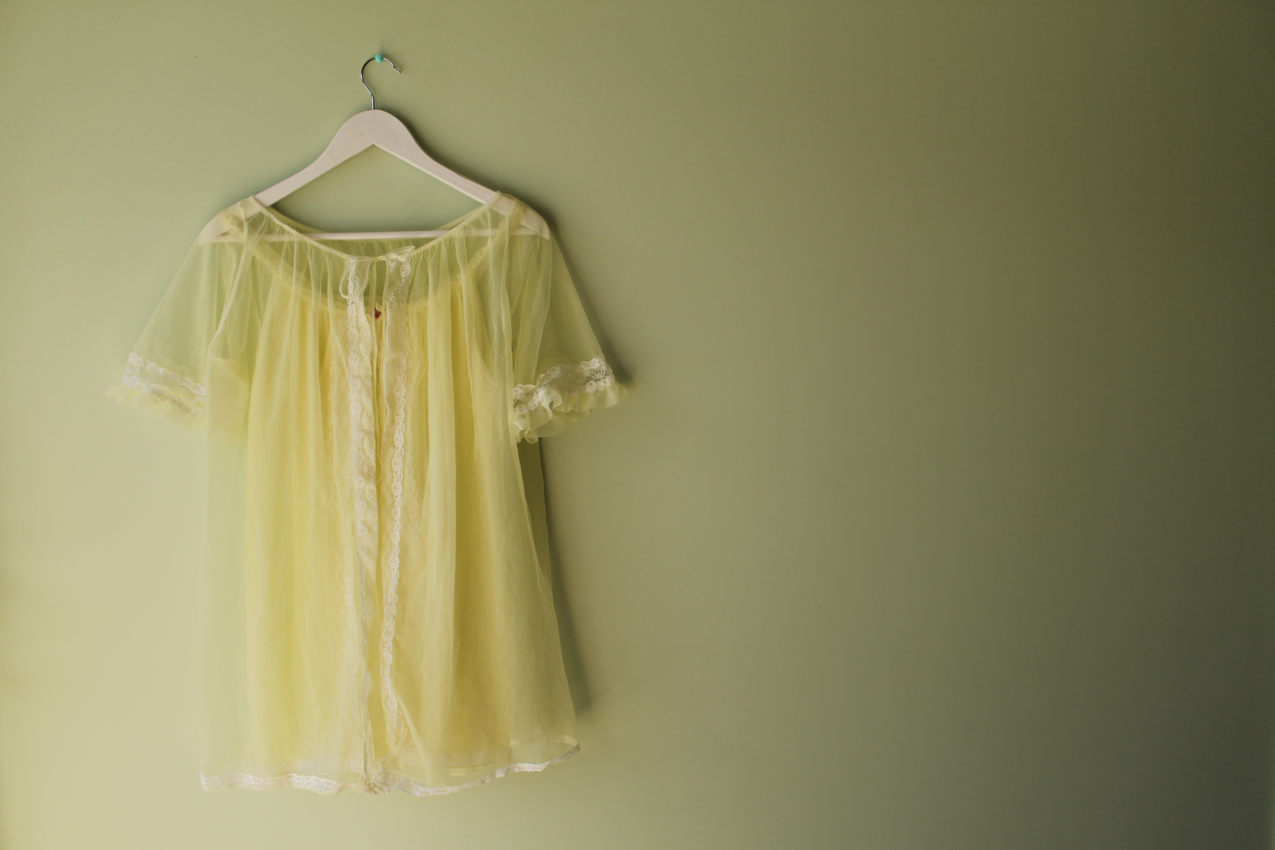 Lemon Souffle Vintage Sleepwear | Velvet Decollete