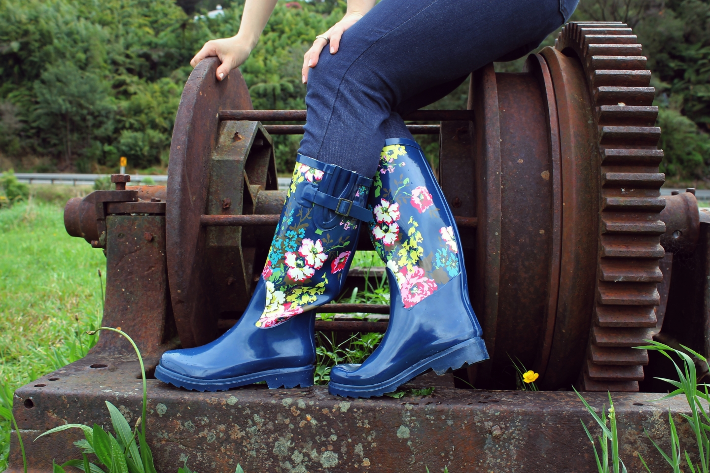 novelty gumboots for spring | Velvet DeCollete