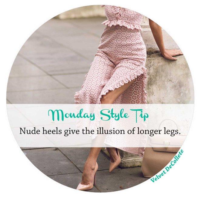 nude-heels lengthen legs