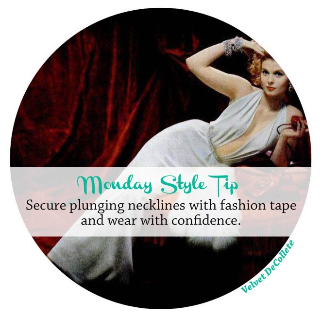 secure-plunging-necklines-with-fashion-tape