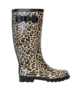 leopard-print-gumboots | Velvet DeCollete