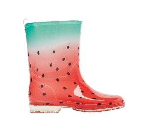 watermelon-print-gumboots | Velvet Decollete